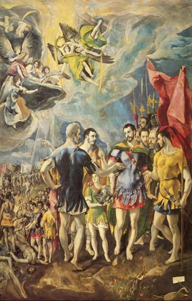 聖マウリティウスの殉教:エル・...