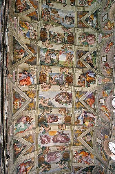 ミケランジェロのシスティナ礼拝...